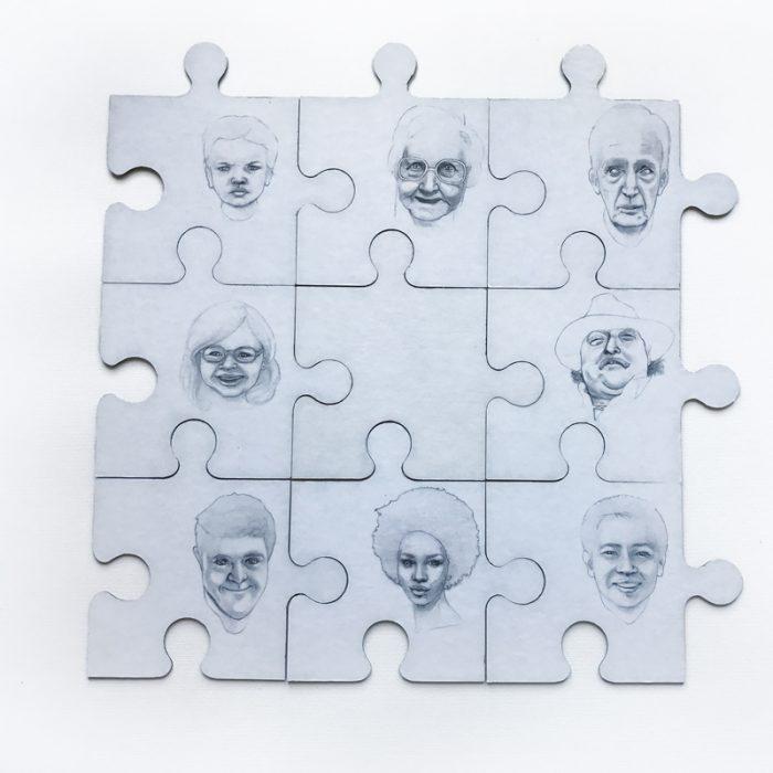 Social integration puzzle