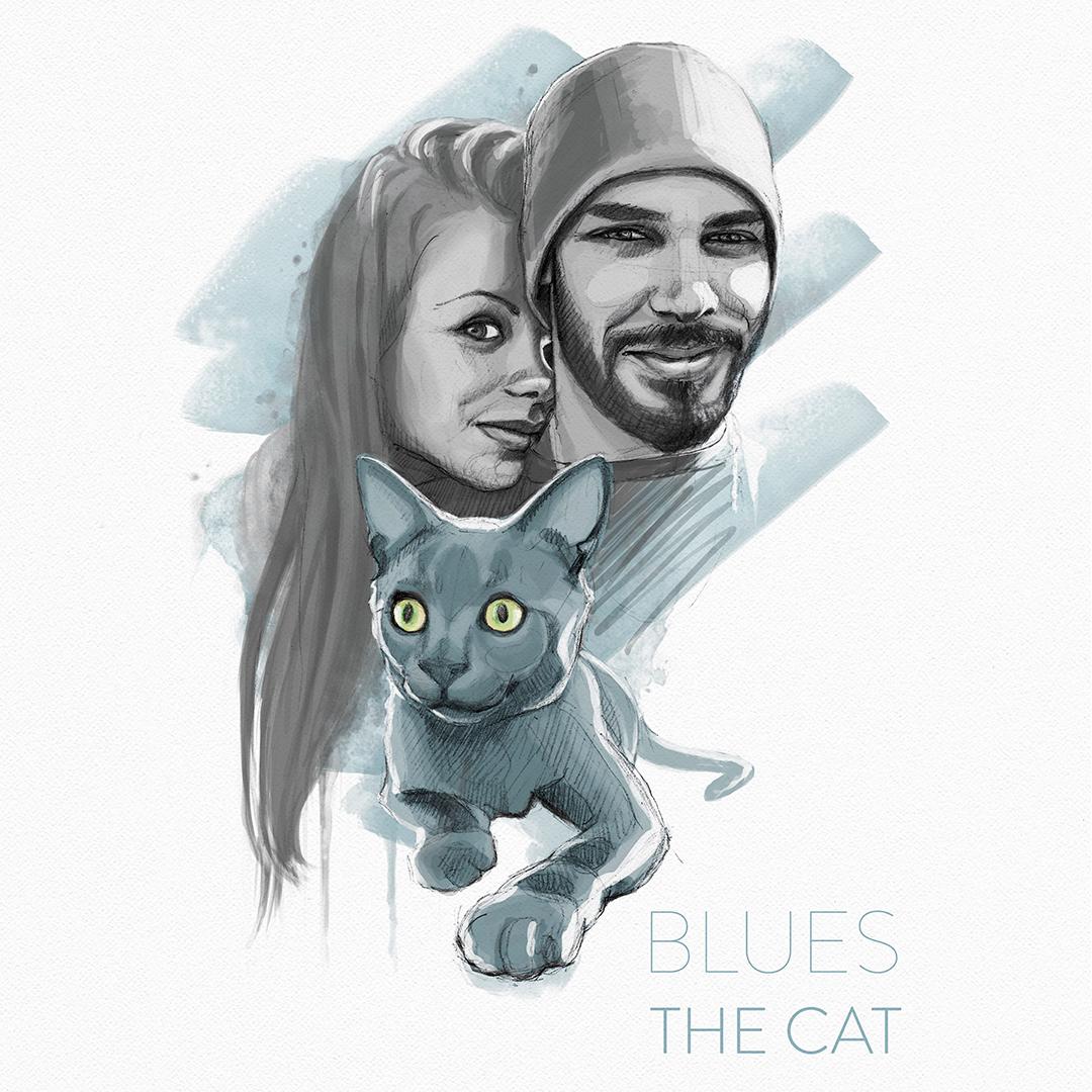 Blues the cat konsu llorente